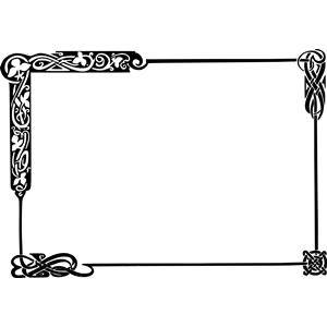 Celt clipart frame #12