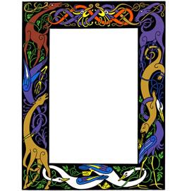 Celt clipart frame #3