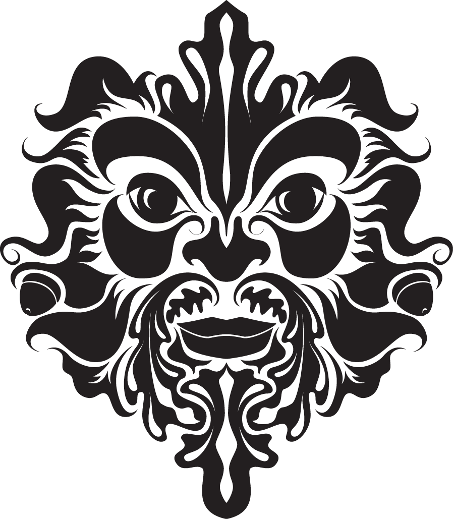 Celtic clipart green man  The A of… Making