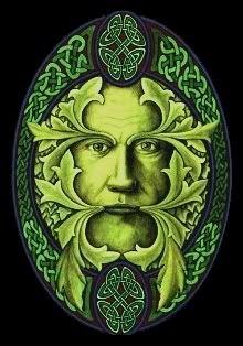 Celtic clipart green man Images on ArtForest Green Celtic
