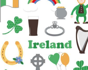 Celt clipart horseshoe Clip Ireland Clip Irish leprechaun