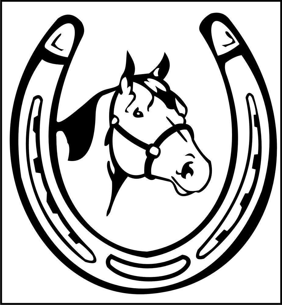 Drawn horseshoe hand Pinterest Riina more! Horseshoes images