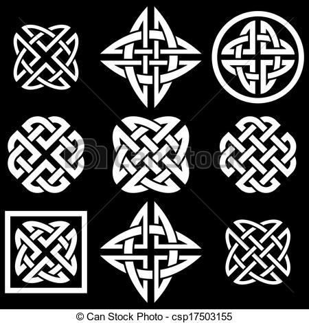 Celtic clipart icon Vector stock Celtic illustrations Celtic
