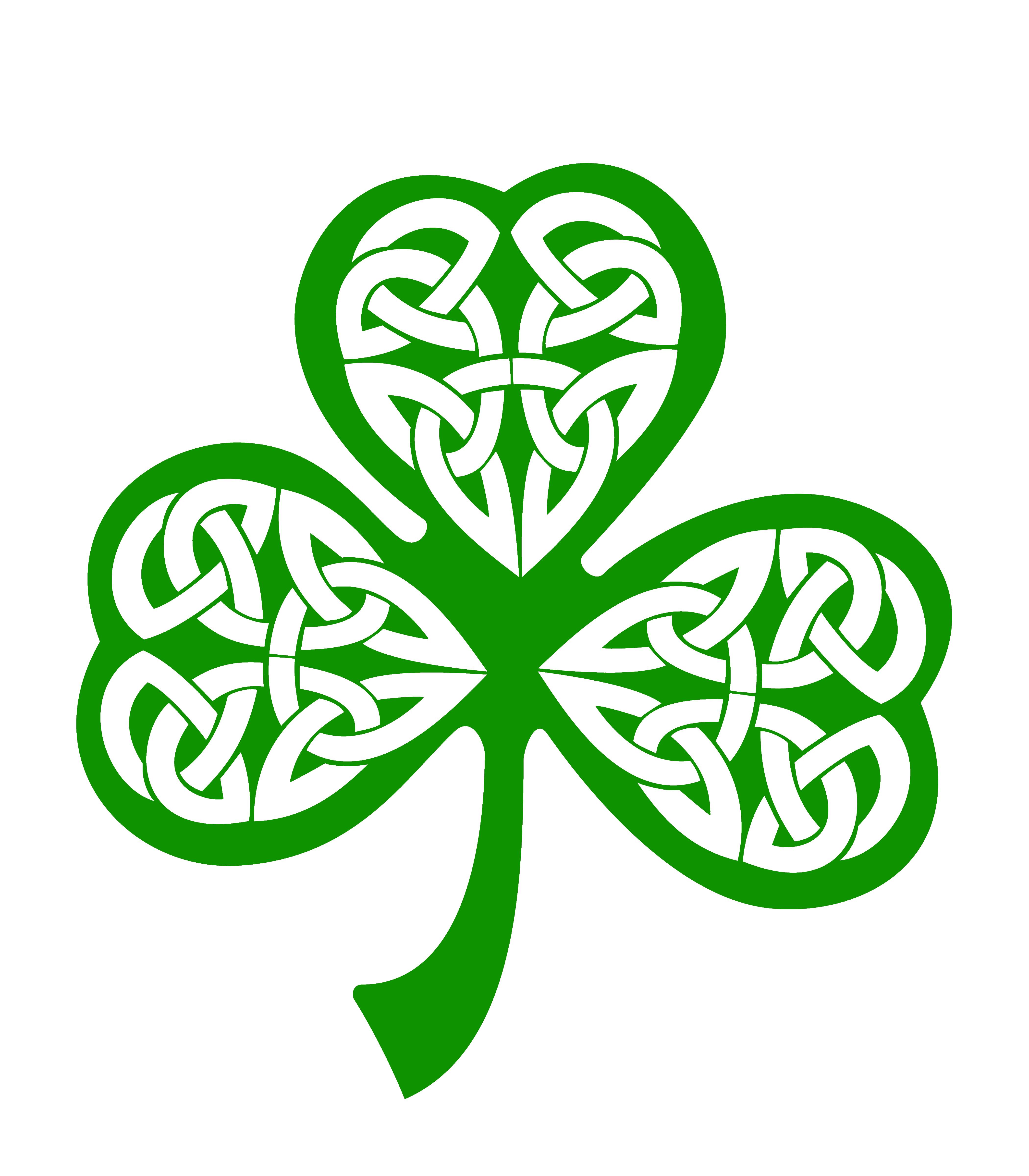 Clover clipart celtic Shamrock  wallpaper Shamrock wallpaper