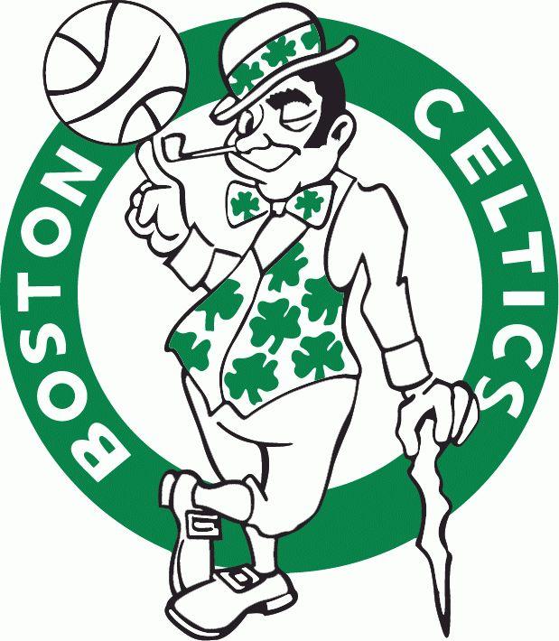 Celt clipart logo Logo NBA 25+ white green
