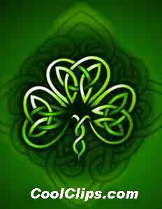 Celt clipart luck #11