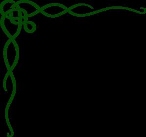 Celtic clipart scroll Green Clker Scroll com art