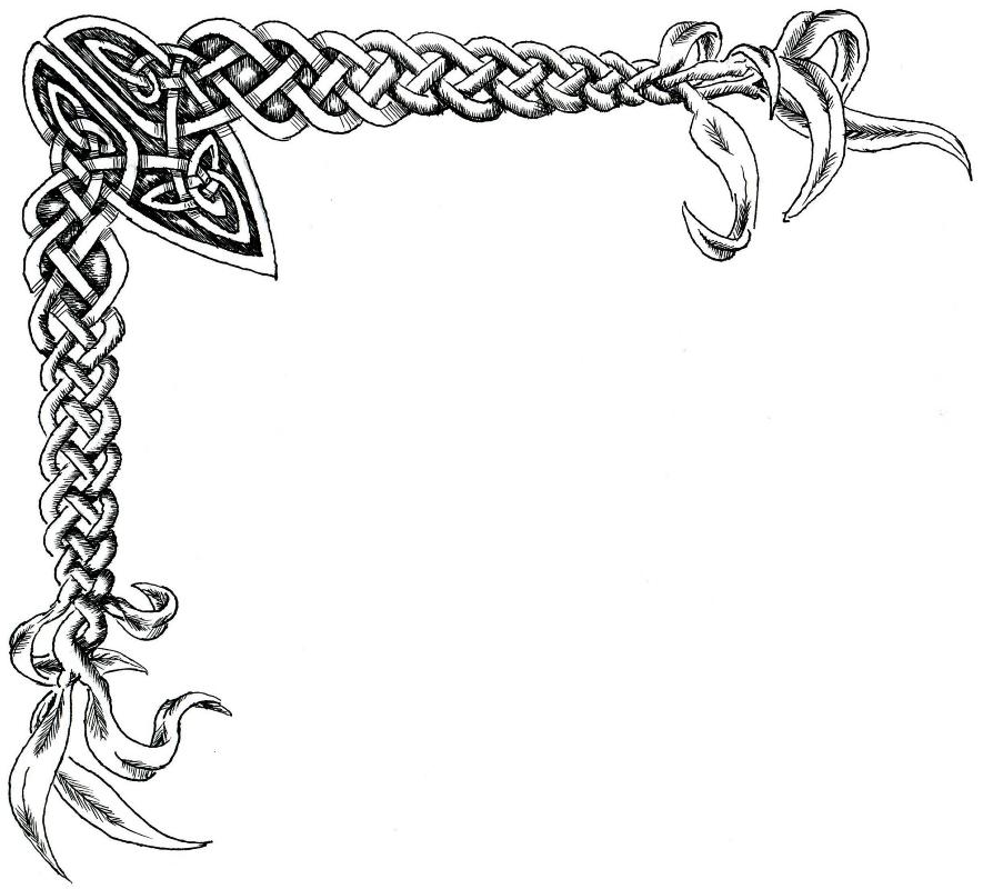 Celtic Knot clipart border Border Free Download Border Art