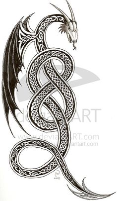 Sea Monster clipart celtic #13