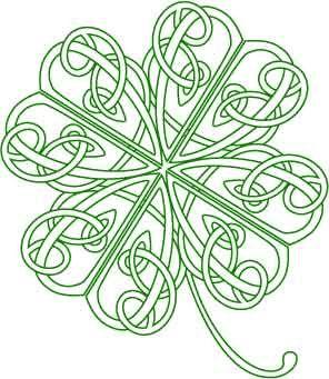 Celt clipart shamrock #4