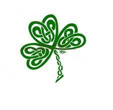 Celtic Knot clipart shamrock Day  downloads SVG patricks
