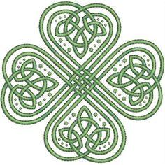 Celt clipart shamrock #6