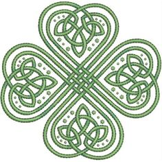 Celtic Knot clipart shamrock  CELTIC vector clip Shamrock
