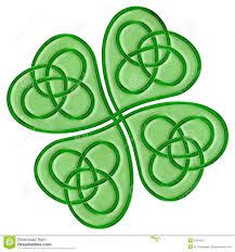 Celt clipart shamrock For /Sticker Clover leaf result