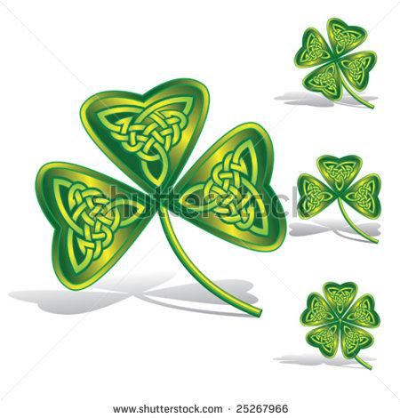 Celt clipart shamrock #13