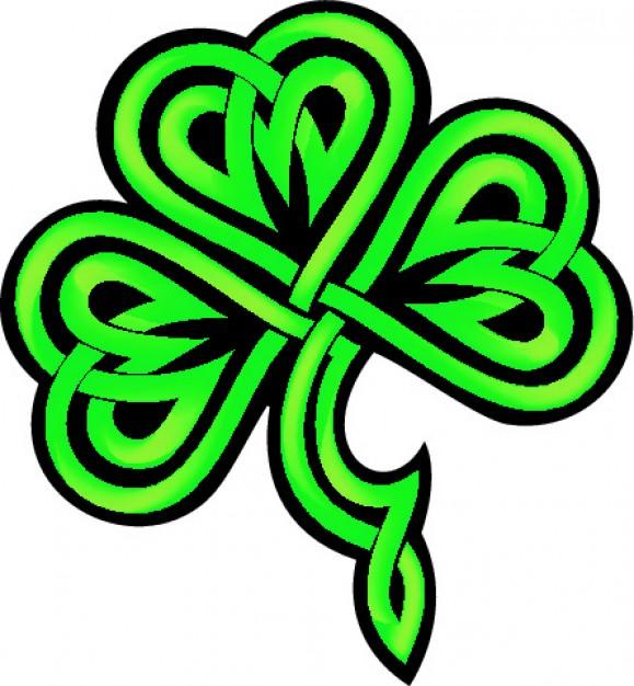 Celt clipart shamrock #9