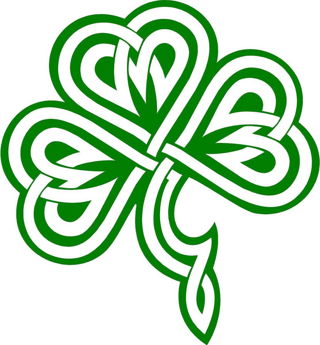Celt clipart shamrock Color knot Clipart Shamrock clipart