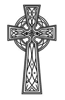 Irish clipart gothic cross Art Collection  Simple Celtic