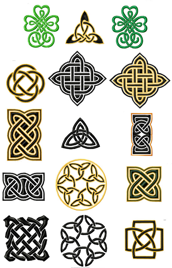 Celtic clipart small Locke Find Embroidery and Madwoman