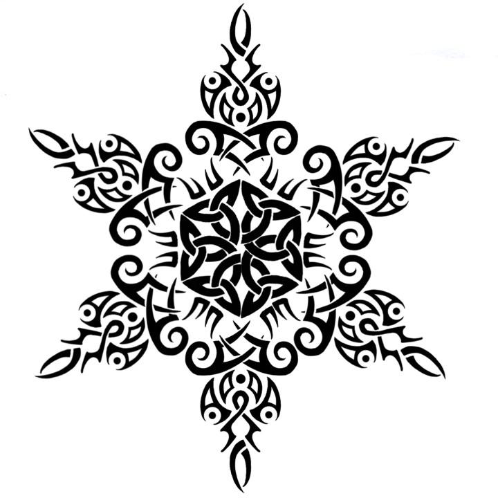 Celt clipart snowflake #13
