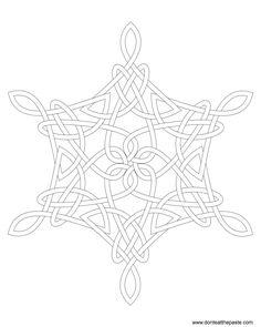 Celt clipart snowflake #15