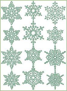 Celt clipart snowflake #12