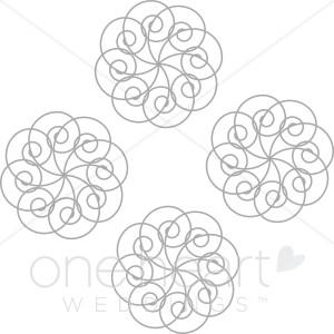Celt clipart snowflake #2