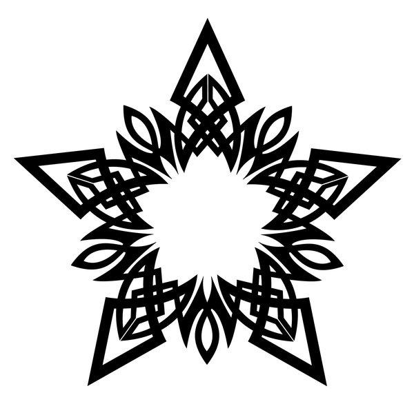 Celt clipart snowflake #3