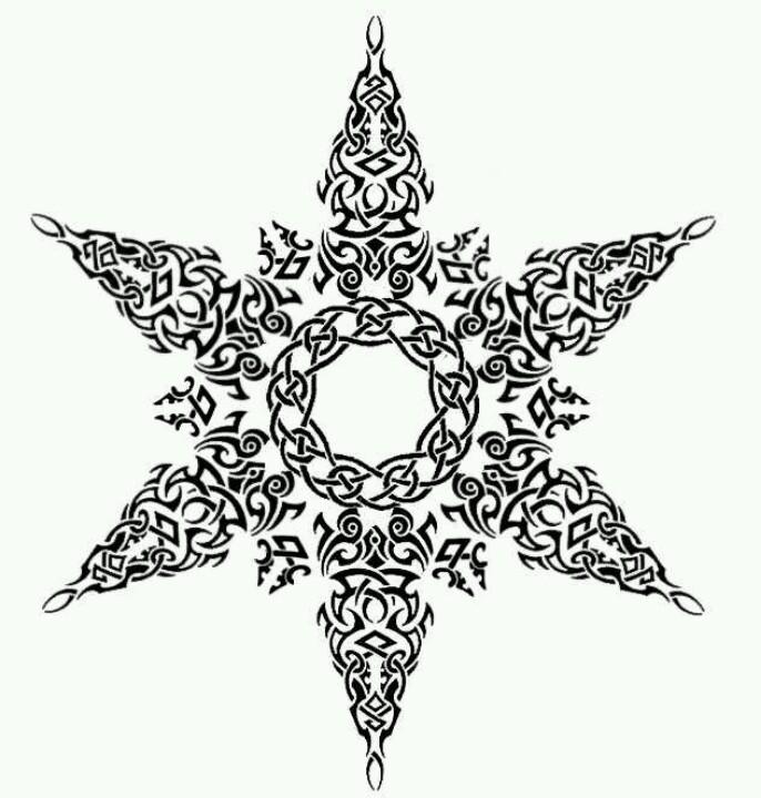 Celt clipart snowflake #5