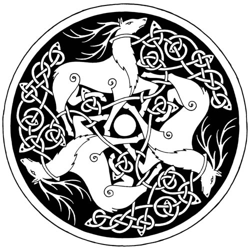 Celt clipart stag @twistedstrokes ~twistedstrokes ~twistedstrokes Stags Three