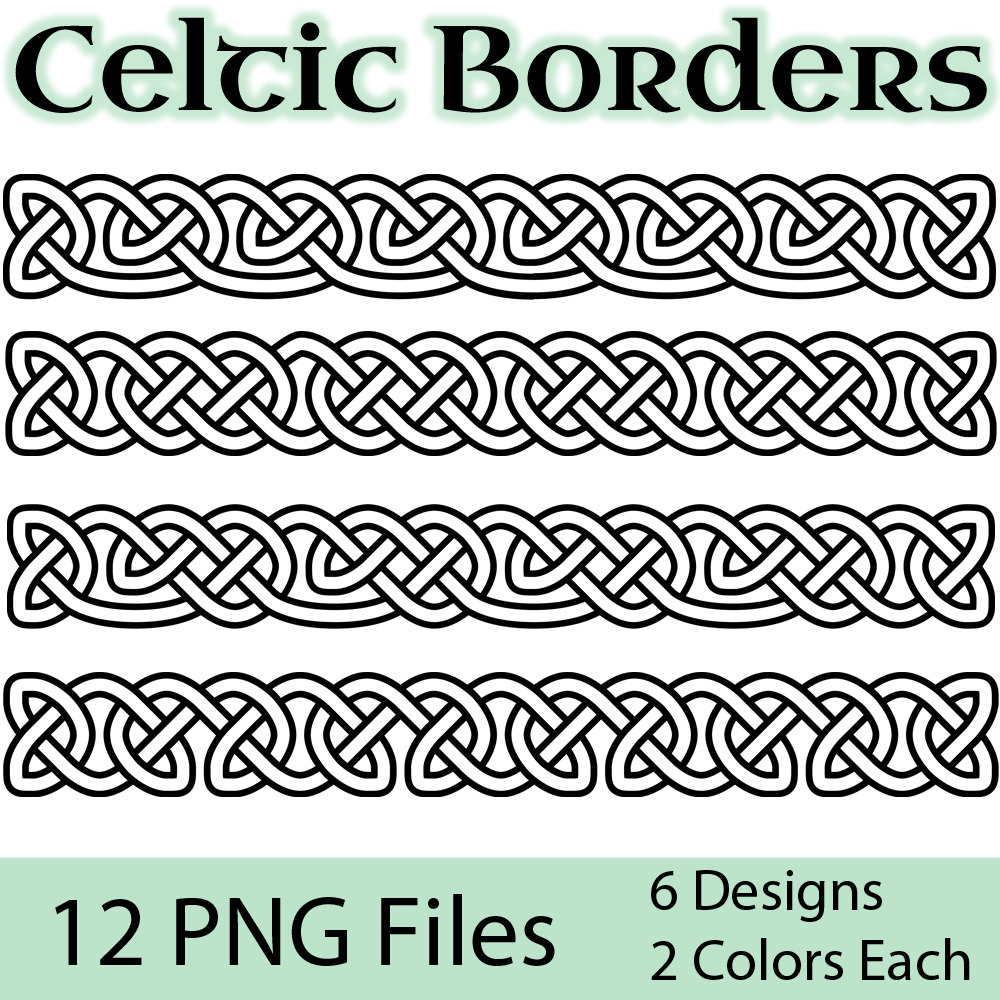 Celt clipart transparent Borders files Celtic Art: High