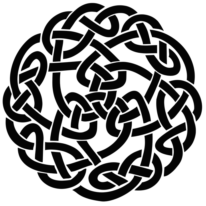 Celt clipart transparent Transparent Knot StickPNG Square Celtic