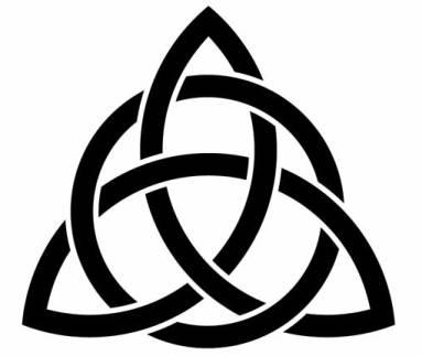 Celt clipart trinity knot #2