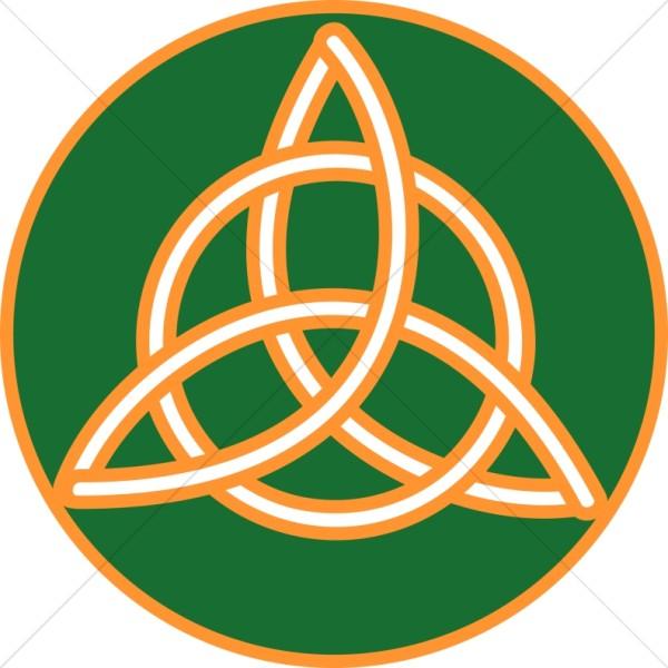 Celt clipart trinity knot Knot Celtic Celtic Trimmed Trinity