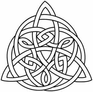Celt clipart trinity knot #15