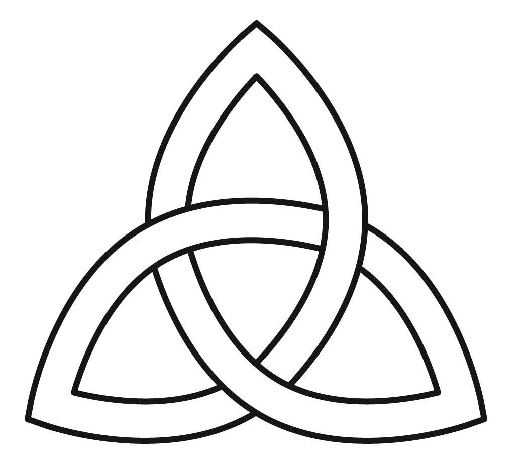 Celt clipart trinity knot #4