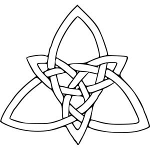 Celt clipart trinity knot #5