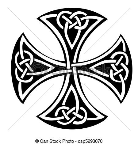 Celtic clipart color An Celtic Vector  cross