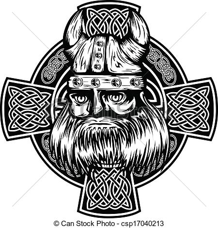 Celtic Warriors clipart vikings Celtic cross  and cross