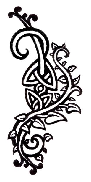 Drawn ivy branch By deviantART: Vines Tattoos deviantART: