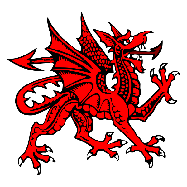 Celtic Warriors clipart welsh Welsh: Welsh The Dragon Goch