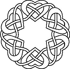 Celt clipart wreath Knotwork Aon about Pinterest on