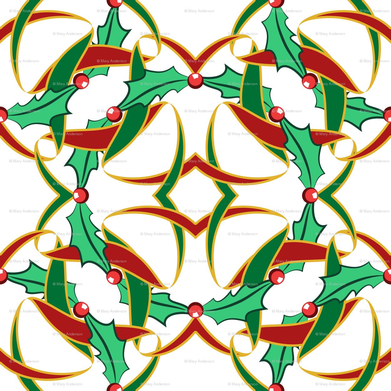 Celt clipart wreath On anderson_designs Celtic Christmas White