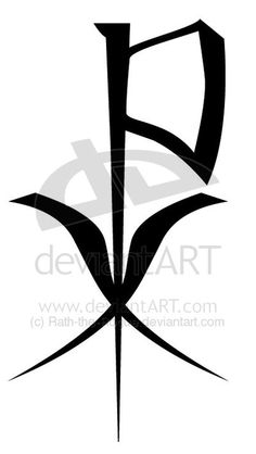 Celtic clipart chi rho Is earliest Rogue by on