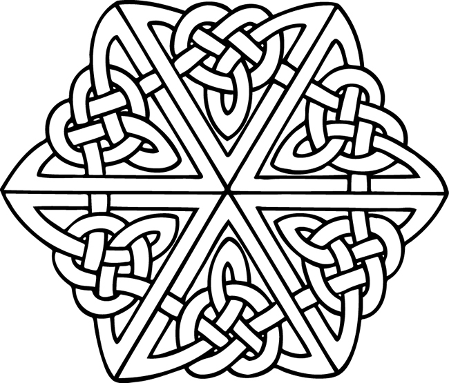 Celtic clipart color Design knotwork ɜ para celtic