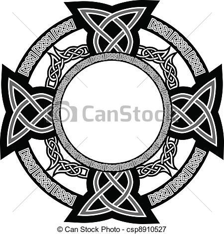 Celtic clipart emblem Cross vector Vector Vectors of
