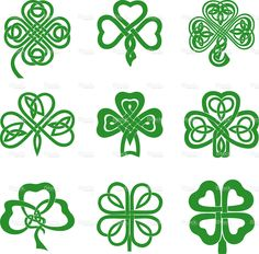 Celtic clipart small Vector Celtic knot stock clip
