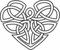 Celtic Knot clipart blue Images best black & white