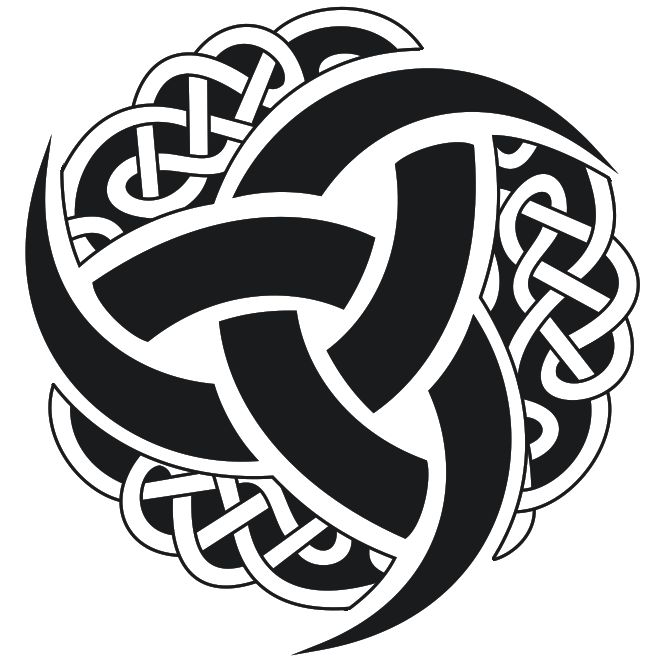 Celtic Knot clipart odin 225 triplehorn best que para