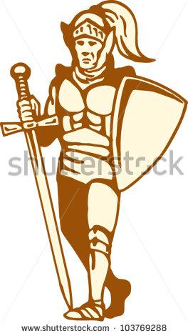 Celtic Warriors clipart highlander Als of vector Vektoren Clipart